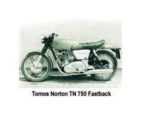 Tomos Norton TN 750 Fastback